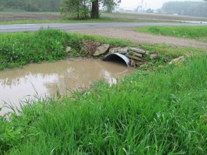 North side of Culvert